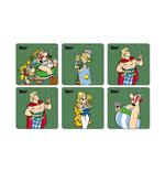 Posavasos Asterix Legionary 6 Coasters Set