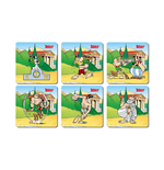 Posavasos Asterix Olympic Games 6 Coasters Set
