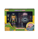 Muñeco De Acción Tmnt Cartoon Donatello Vs Krang Bw 2pk