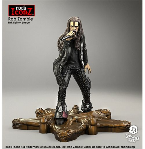 Estatua Rock Iconz Rob Zombie Statue