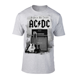 Camiseta AC/DC Gildan 64000 In Rock We Trust (plomo)