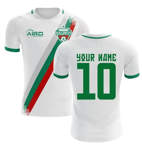 Camiseta Bulgaria Fútbol 2018-2019 Home personalizable