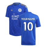 Camiseta Leicester City F.C. 2019-2020 Home personalizable