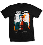 Camiseta Johnny Cash  Unisex Tee: Outlaw Photo