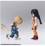 Muñeco De Acción Ffix Bring Arts Zidane & Garnet 17TH Set