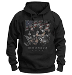 Sudadera Kiss:  Made In The USA Hooded Sweatshirt (Unisex)