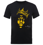 Camiseta The Notorious B.I.G.  Biggie SMALLS: Gold Crown T-shirt (Unisex)