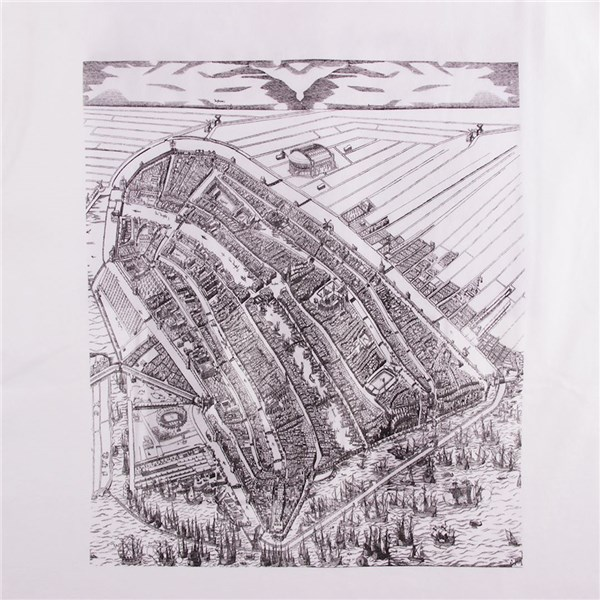 Camiseta Amsterdam City Map