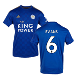Camiseta Leicester City F.C. 2019-2020 Home