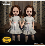 El resplandor Living Dead Dolls Set de 2 Muñecos con sonido The Grady Twins 25 cm