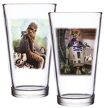 Star Wars Episode VIII Pack de 2 Vasos Chewbacca & R2-D2