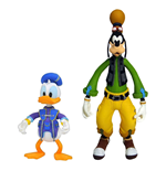 Kingdom Hearts 3 Select Pack de 2 Figuras Goofy & Donald 10 - 18 cm