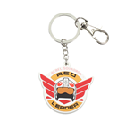 Llavero Sw Ro Red Leader Rubber Keychain