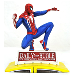 Marvel Gallery Diorama PS4 Spider-Man on Taxi 23 cm