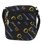 Disney by Loungefly Cartera para Pasaporte Kingdom Hearts Keys AOP