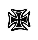 Parche Generic Patches IRON CROSS