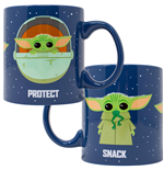 Taza The Mandalorian The Child Snack Attack Protect Taza de cerámica de 20 onzas
