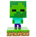 Minecraft lámpara 3D Icon Zombie