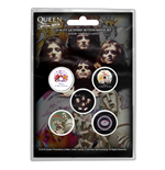 Chapita Queen Pin Badge Pack primeros álbumes (botón Badge SET)
