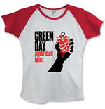 Camiseta Green Day American Idiot with Skinny Fitting