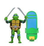 Tortugas Ninja: Turtles in Time Figura Serie 1 Leonardo 18 cm