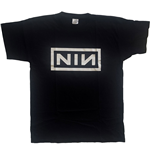 Camiseta Nine Inch Nails unisex - Design: Classic Logo