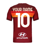 Camiseta 2020/21 AS Roma Home personalizable