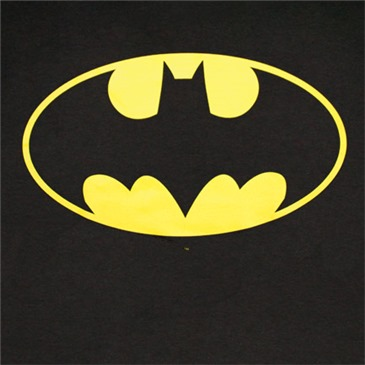 Camiseta BATMAN Classic Yellow Bat Logo