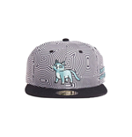 Rick y Morty Gorra Snapback Outer Space Cat