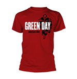 Camiseta Green Day AMERICAN IDIOT HEART GRENADE