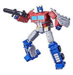 Transformers Generations War for Cybertron: Kingdom Figuras Leader Class Optimus Prime 18 cm