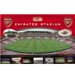 Poster Arsenal Emirates Stadium
