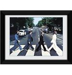Poster The Beatles Abbey Road Framed Photographic