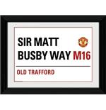 Foto Manchester United Street Sign