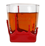Vaso Maker's Mark Whisky Bourbon Red Wax
