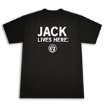 CamisetaJACK DANIELS Whiskey Lives Here