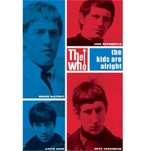 Poster The Who-Colours Blocks
