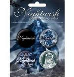 Set Chapitas Nightwish-Once