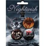 Set Chapitas Nightwish-Dark Passion