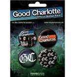 Set Chapitas Good Charlotte