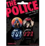 Set Chapitas The Police
