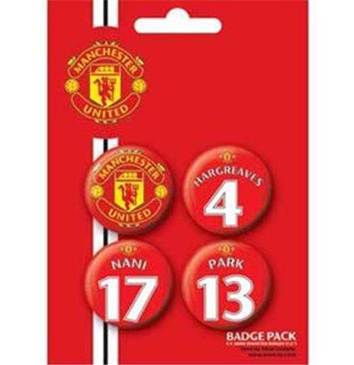 Set Chapitas Manchester United-Players3