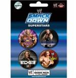 Set Chapitas Wwe-Smack Down