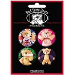 Set Chapitas Bad Taste Bears