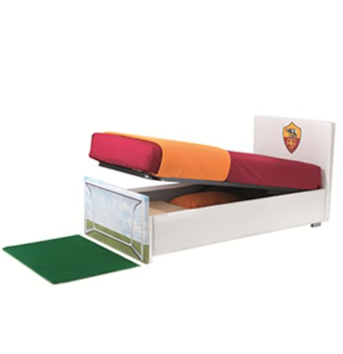 Cama plaza y media goal roma con box por tan s lo 872 for Futon cama plaza y media