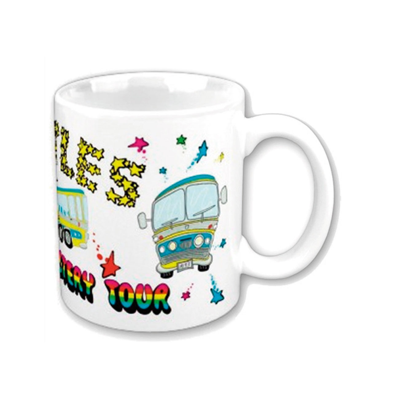 Taza Beatles Magical Mystery Tour. Producto oficial Emi Music