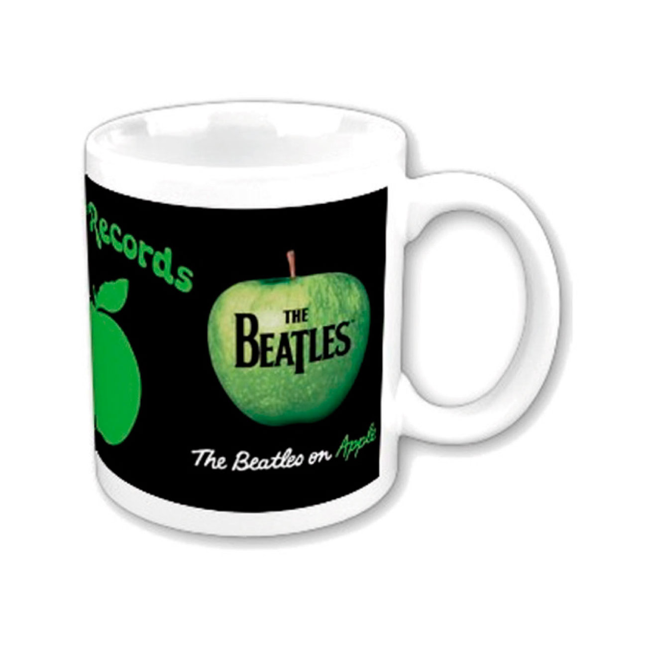 Taza Beatles On Apple. Producto oficial Emi Music