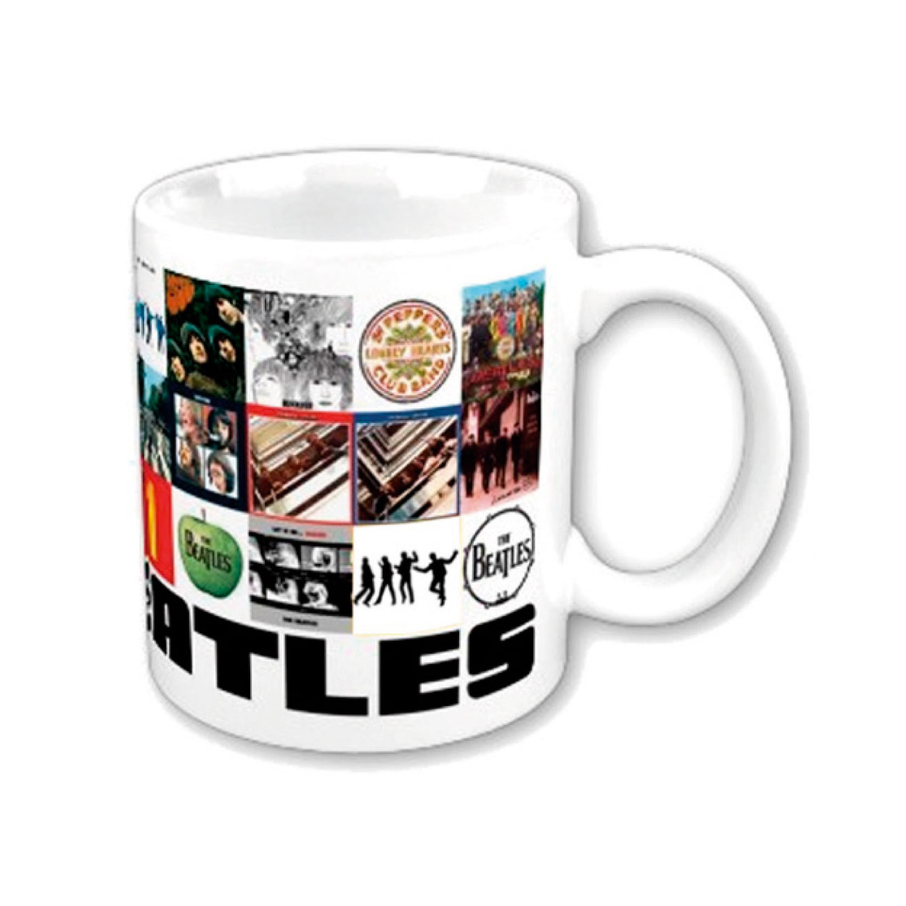 Taza Beatles - Chronology Boxed. Producto oficial Emi Music