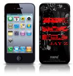 Cover Skin iPhone 4G Jay Z - Red Logo. Producto oficial Emi Music