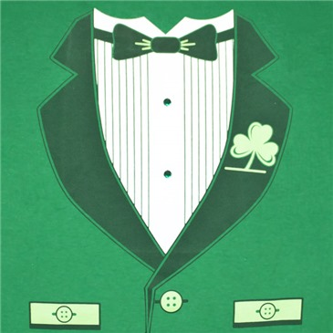 Camiseta Irish Tuxedo ST. PATRICK'S DAY Novelty